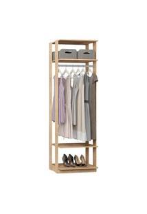 Closet 1008C Carvalho - Be Mobiliario