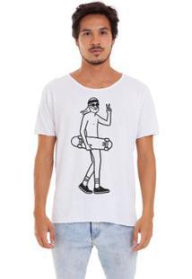 Camiseta Joss Corte A Fio India Masculina - Masculino