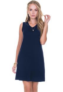 730bb6fcc Vestido Azul Marinho Guipir feminino | Gostei e agora?