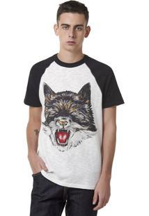 Camiseta Unissex Raglan Com Estampa Hering + À La Garçonne