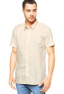 Camisa Cavalera Logo Off-White