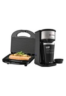 Kit Cafeteira Up To Go E Sanduicheira Minigrill Cadence - 127V
