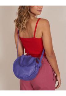 Bolsa Pequena Redonda - Roxo U