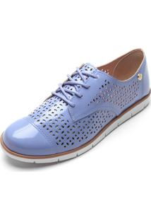 Oxford Moleca Laser Cut Azul