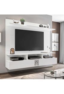 Painel Home Suspenso Para Tv Até 60 Polegadas Bahamas Branco Móveis Leão