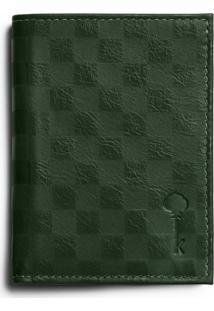 Carteira Key Design Wallet - Verde
