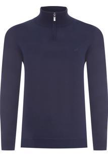 Blusa Masculina Tricot Pablo - Azul
