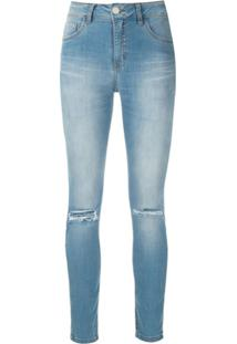 Lethicia Bronstein Calça Jeans Skinny - Azul