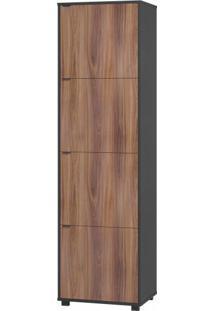 Armário Multiuso Para Lavanderia 4 Portas Bs 208 - Brv Móveis Elare
