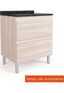 Balcão De Cozinha Belíssima Plus 2 Pt Saara Wood