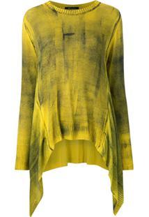 Uma | Raquel Davidowicz Blusa De Tricô Trinity - Amarelo