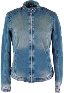 Jaqueta Fiero Térmica Jeans Queens Azul