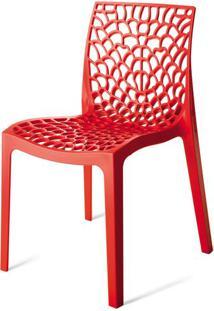 Cadeira Gruver Polipropileno Vermelha - 15118 - Sun House