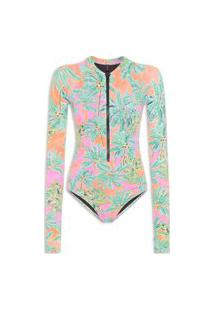 Body Lily Tropical - Rosa