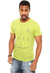 Camiseta Calvin Klein Jeans New York Verde