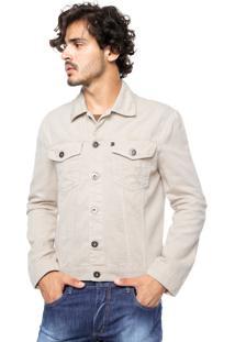 Jaqueta Jeans Forum Bolsos Off-White