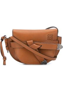 Loewe Gate Western Mini Bag - Marrom