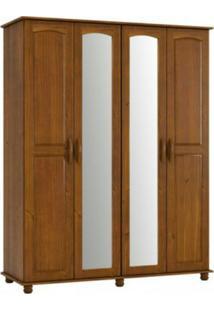 Guarda Roupa Finestra Onix 1715 4 Portas Imbuia