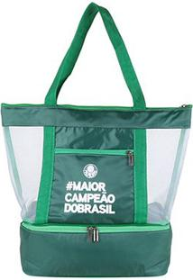 Bolsa Térmica Palmeiras I - Unissex-Verde
