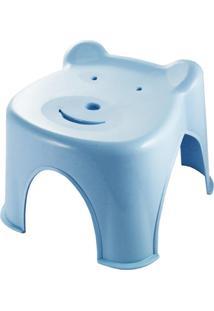 Banquinho Ursinho Jacki Design Lifestyle Azul - Azul - Feminino - Dafiti