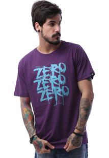 Camiseta Zero Three Roxo