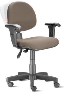 Cadeira Ergonômica Nr17 Executiva Crepe Creme