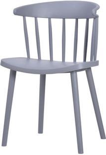 Cadeira Grid Polipropileno Cinza - 58154 - Sun House