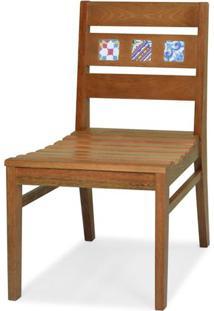 Cadeira Novaes Assento Laminado Freijo Natural Com Pes Madeira - 48263 - Sun House