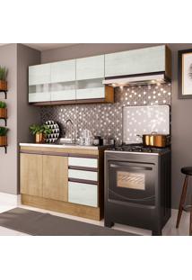 Cozinha Compacta Amália 7 Pt 2 Gv Nogueira E Gelo