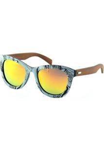 Óculos Solar Lougge Lg 344.3 Cinza