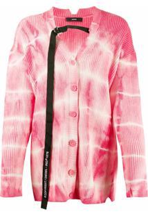 Diesel Cardigan Tie-Dye - Rosa