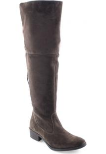 Bota Feminina Over The Knee Trilha Da Lua Vg 01