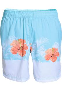 Shorts Masculinos Yachtmaster Floral