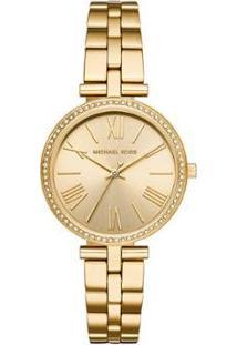 Relógio Michael Kors Maci Feminino - Feminino-Dourado
