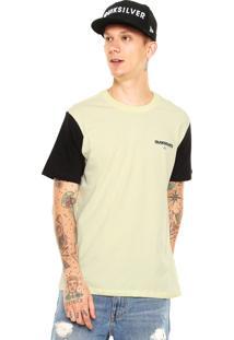 Camiseta Quiksilver Hammer Amarela