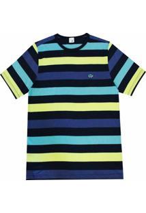 Camiseta Pau A Pique - Masculino-Azul Escuro