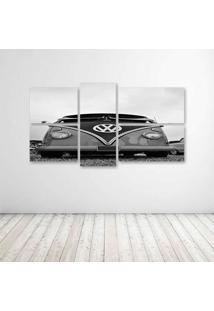 Quadro Decorativo - Vw Camper - Composto De 5 Quadros - Multicolorido - Dafiti