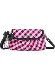 Bolsa Transversal Jacki Design Brit Clássico - Unissex-Pink