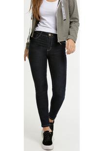 Calça Jeans Cigarrete Feminina Sawary