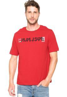 Camiseta Cavalera Logo Vermelho
