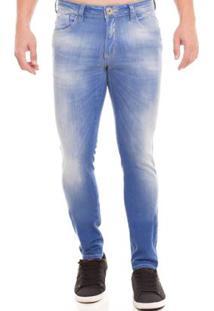 5d5357b23 ... Calça Jeans Osmoze Skinny Masculina - Masculino-Azul