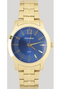 Relógio Analógico Mondaine Feminino - 99017Lpmvde1 Dourado - Único