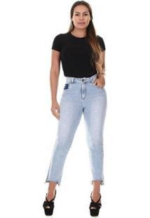Calça Jeans Sawary Reta Feminina - Feminino
