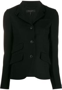 Rag & Bone Buttoned Jacket - Preto