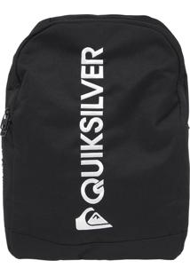 Mochila Quiksilver Recess All Black Preto