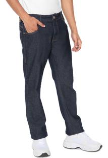 Calça Jeans Coca-Cola Jeans Reta New Azul