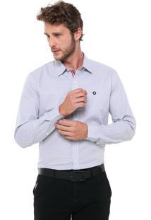 Camisa Iódice Reta Logo Cinza