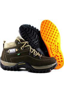 Tênis Helazza Boots Adventure Verde Oliva