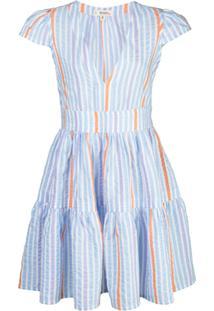 Lemlem Vestido Bahiri - Azul