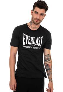Camiseta Everlast Bronx Preto